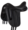 Fairfax Rebecca Monoflap Dressage Saddle - 3/4-angle