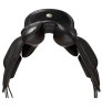 Fairfax Spencer Monoflap Dressage Saddle - Rear View