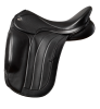 Fairfax Spencer Monoflap Dressage Saddle - Black